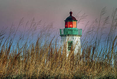Photograph - Old Point Comfort Light by Jerry Gammon
