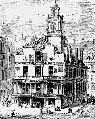 Old State House, Boston Art Print