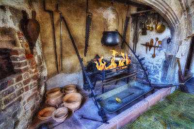 Photograph - Olde Kitchen by Ian Mitchell