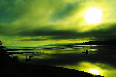 On Golden Waters  Original by Jeff Swan