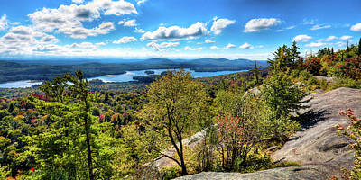 Photograph - On Top Of Bald Mountain by David Patterson
