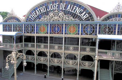 Giuseppe Cristiano - Opera House at Forteleza in Brazil by Carl Purcell
