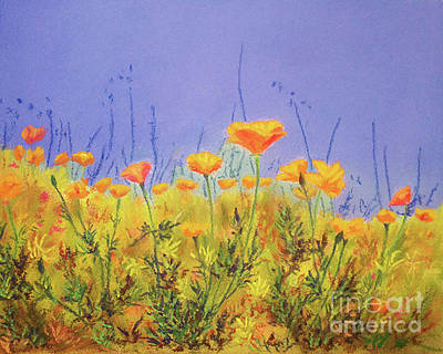 Painting - Orange Poppies by Anne Marie Brown