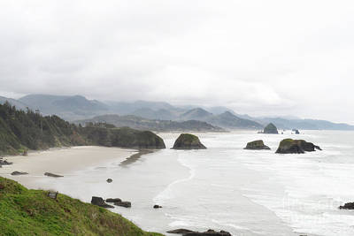 Photograph - Oregon Coast Mountain Landscape by Andrea Hazel Ihlefeld
