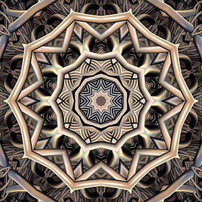 Organic Evolution Art Print