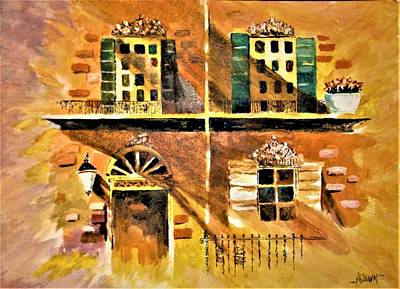 Painting - Orleans Vignette by Al Brown