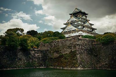 Photograph - Osaka Castle by Songquan Deng
