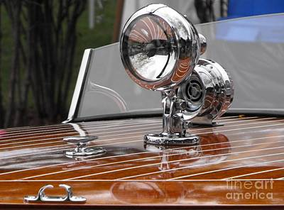 1050's Outboard Runabout Art Print