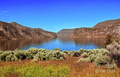 Photograph - Owyhee Reservoir by Robert Bales