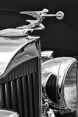Photograph - Packard Hood Ornament by Dennis Hedberg