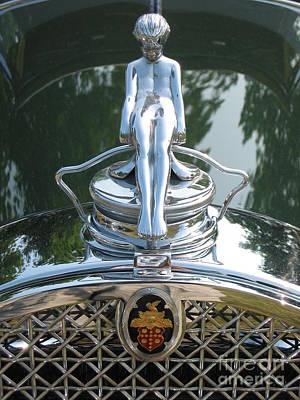 Photograph - Packard Hood Ornament by Neil Zimmerman