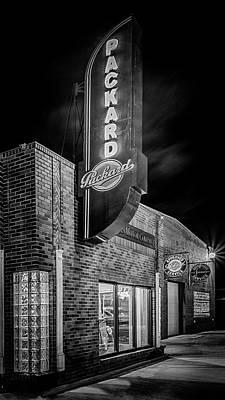 Photograph - Packard Sign #3 by Susan Rissi Tregoning