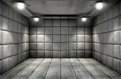 Mental Digital Art - Padded Cell Dirty by Allan Swart