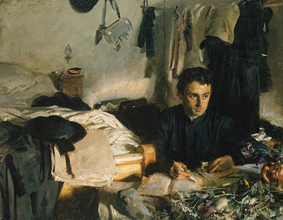 Painting - Padre Sebastiano by John Singer Sargent