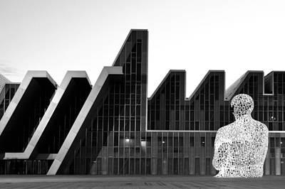 Photograph - Palacio De Congresos Zaragoza Spain by Marek Stepan