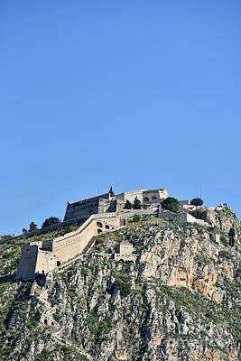 Photograph - Palamidi Castle by George Atsametakis