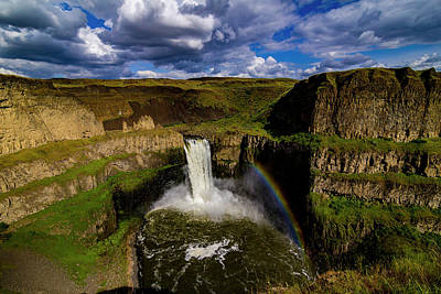 Photograph - Palouse Falls by Albert Seger