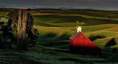 Photograph - palouse Sunset by Steven Greenbaum