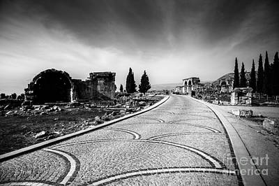 Photograph - Pamukkale Ruins by Rene Triay Photography