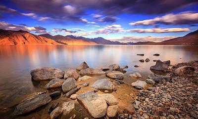 Photograph - Pangong Tso Lake by Alexey Stiop