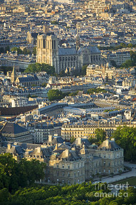 Photograph - Paris Overhead by Brian Jannsen