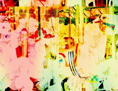 Photograph - Pastel Carouseling by JAMART Photography