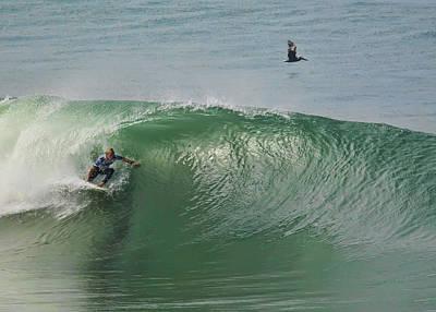 Photograph - Patrick Gudauskas Surfer by Waterdancer
