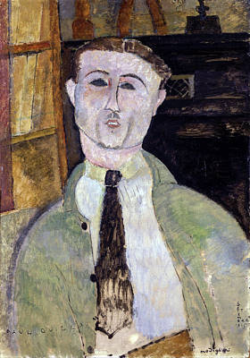 Painting - Paul Guillaume  by Amedeo Modigliani