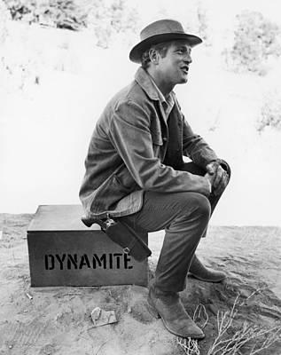 Paul Newman (1925-2008) Print by Granger