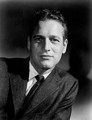 1950s Portraits Photograph - Paul Newman by Everett