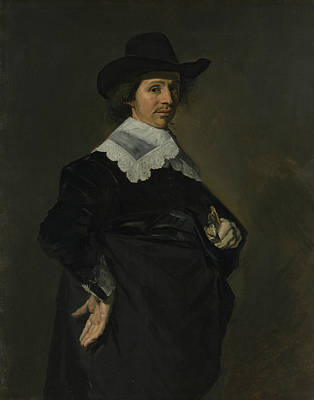 Painting - Paulus Verschuur by Frans Hals