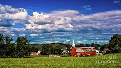 Photograph - Peacham Vermont by Scenic Vermont Photography