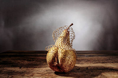 Bronze Photograph - Pear by Nailia Schwarz