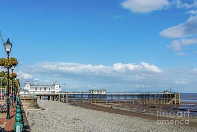 Photograph - Penarth Pier 2 by Steve Purnell