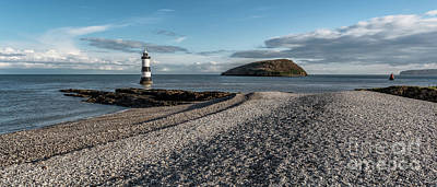 Penmon Point Lighthouse Art Print by Adrian Evans