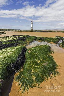 Perch Rock Lighthouse Art Print by Ian Mitchell