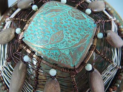 Sculpture - Periwinkle by Brenda Berdnik