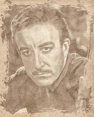 Icon Drawing - Peter Sellers By John Springfield by John Springfield