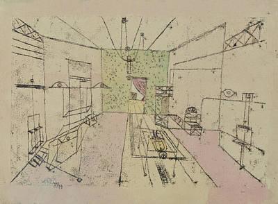 Drawing - Phantom Perspective by Paul Klee
