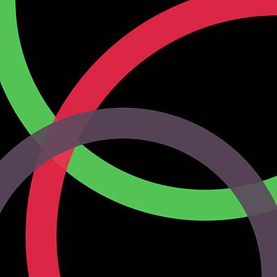 Drawing - 2 - Phi Word Circle by REVAD David Riley