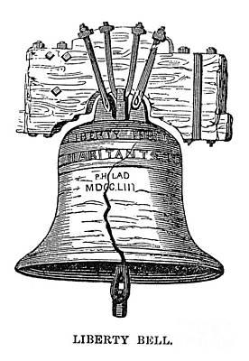 Photograph - Philadelphia: Liberty Bell by Granger