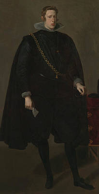 Painting - Philip Iv, King Of Spain by Diego Velazquez