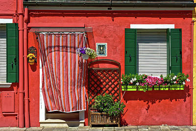Photograph - Picturesque House In Burano by Fine Art Photography Prints By Eduardo Accorinti