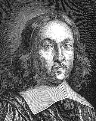 Analytic Photograph - Pierre De Fermat, French Mathematician by Science Source