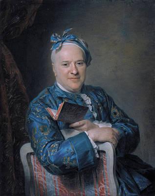 Chair Painting - Pierre-louis Laideguive by Maurice Quentin de La Tour
