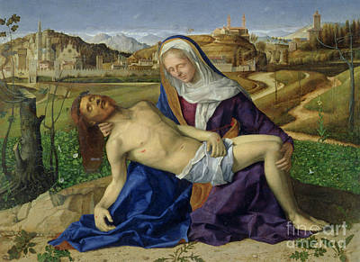 Body Of Christ Painting - Pieta by Giovanni Bellini