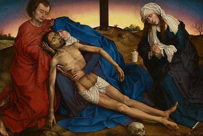 Painting - Pieta by Rogier van der Weyden