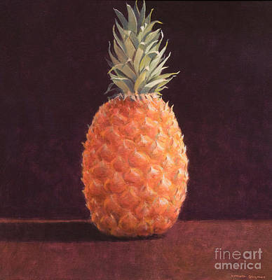 Single Object Painting -   Pineapple by Lincoln Seligman