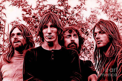 Pink Floyd Collection Art Print