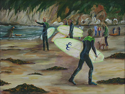 Painting - Pismo Beach by Gail Daley